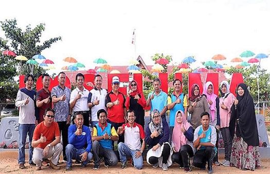 Launching Taman Cyber Mini Dinas Kominfo Seluma Kepala Dinas Dampingi Bupati Seluma