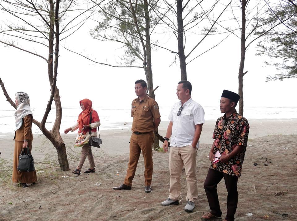 Kepala Dinas Kominfo Kabupaten Seluma  melakukan survey lokasi ke Obyek Wisata Cemoro Sewu