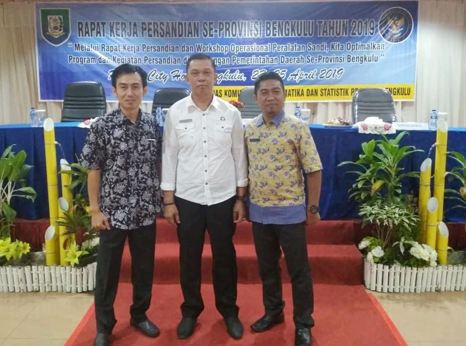 Rapat Kerja Persandian dan Workshop Operasional Peralatan Sandi