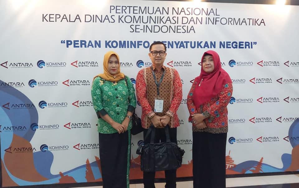 PERTEMUAN NASIONAL KEPALA DINAS KOMINFO SE-INDONESIA