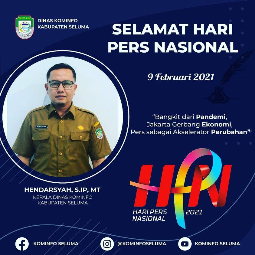 Selamat Hari Pers Nasional Tahun 2021